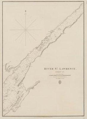 River St. Lawrence: sheet IV [Bathurst (Grenadier) Island to Maitland]