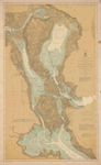 St. Marys River From Twin Island to Sault Ste. Marie. 1898