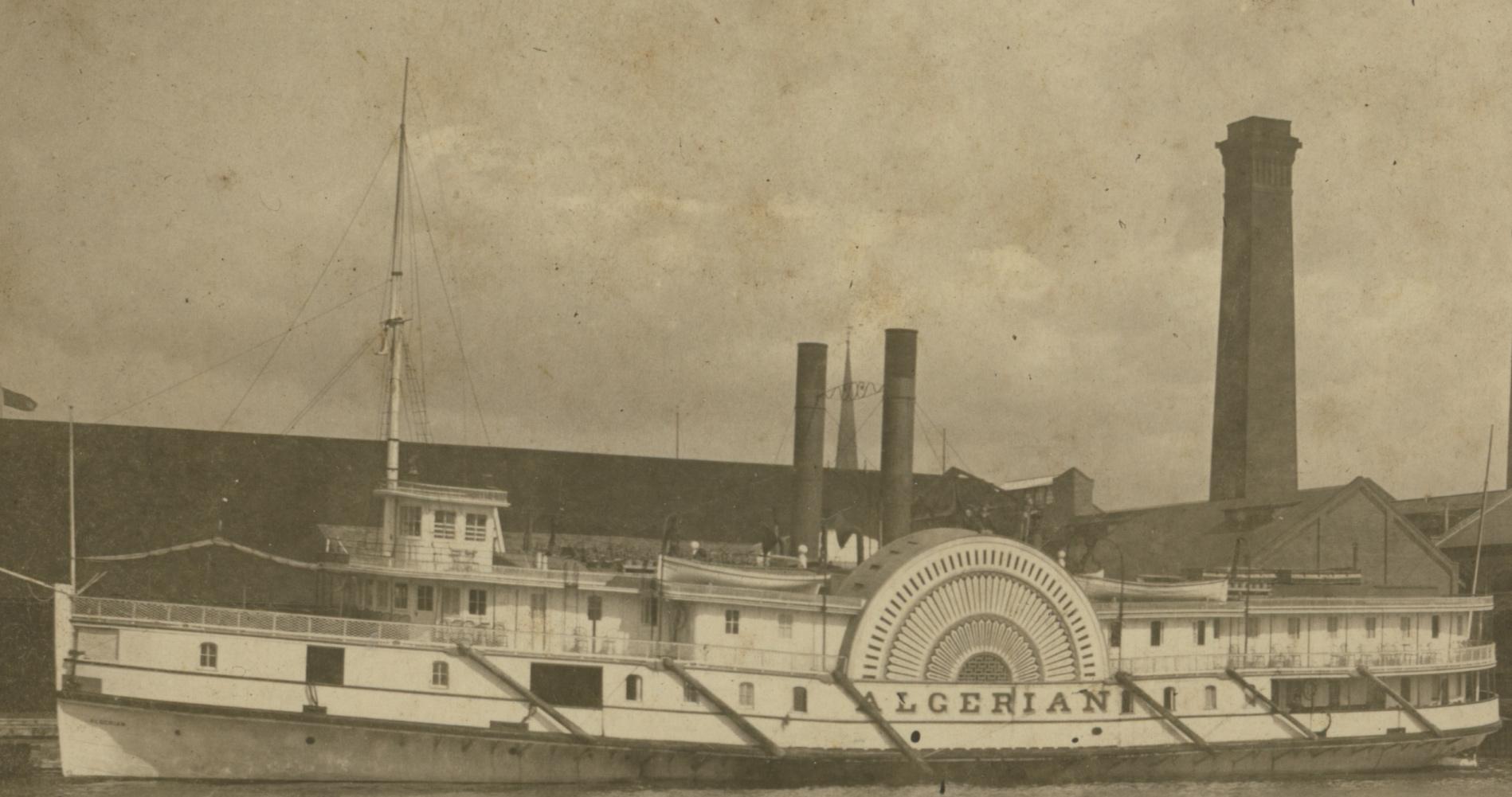 ALGERIAN at Toronto Electric Light Co. Wharf