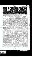 Marine Record (Cleveland, OH1883), September 27, 1883