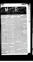Marine Record (Cleveland, OH1883), November 12, 1885