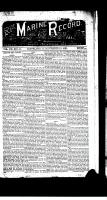 Marine Record (Cleveland, OH1883), November 19, 1885