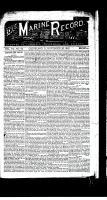Marine Record (Cleveland, OH1883), November 26, 1885