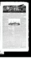 Marine Record (Cleveland, OH1883), February 11, 1886
