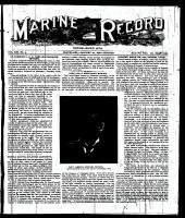 Marine Record (Cleveland, OH1883), January 20, 1898