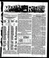 Marine Record (Cleveland, OH1883), January 27, 1898