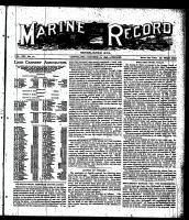 Marine Record (Cleveland, OH1883), October 13, 1898