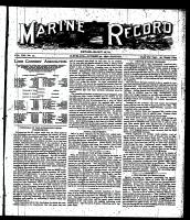 Marine Record (Cleveland, OH1883), October 20, 1898