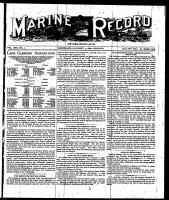 Marine Record (Cleveland, OH1883), January 5, 1899