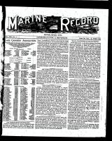 Marine Record (Cleveland, OH1883), January 12, 1899