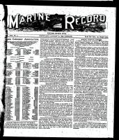 Marine Record (Cleveland, OH1883), January 19, 1899