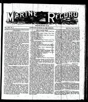 Marine Record (Cleveland, OH1883), January 26, 1899