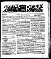 Marine Record (Cleveland, OH1883), March 2, 1899
