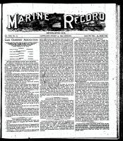 Marine Record (Cleveland, OH1883), March 23, 1899