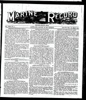 Marine Record (Cleveland, OH1883), January 18, 1900