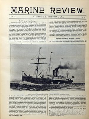 Marine Review (Cleveland, OH), 7 Feb 1895