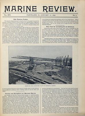 Marine Review (Cleveland, OH), 16 Jan 1896
