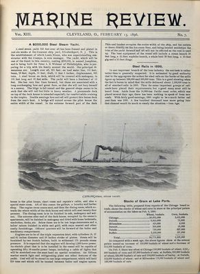 Marine Review (Cleveland, OH), 13 Feb 1896