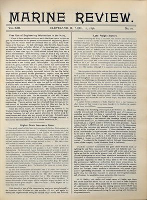Marine Review (Cleveland, OH), 16 Apr 1896