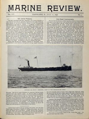 Marine Review (Cleveland, OH), 16 Jul 1896
