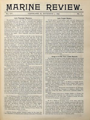 Marine Review (Cleveland, OH), 3 Sep 1896