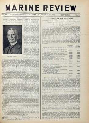 Marine Review (Cleveland, OH), 19 Oct 1899