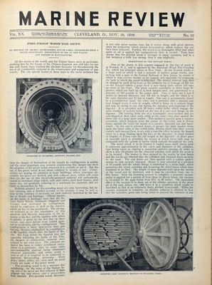 Marine Review (Cleveland, OH), 30 Nov 1899