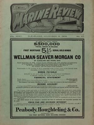 Marine Review (Cleveland, OH), 16 Nov 1905