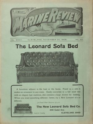 Marine Review (Cleveland, OH), 30 Nov 1905