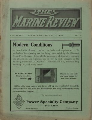 Marine Review (Cleveland, OH), 11 Jan 1906