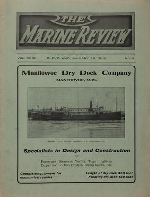 Marine Review (Cleveland, OH), 25 Jan 1906