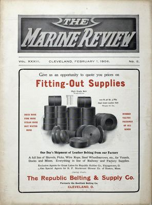 Marine Review (Cleveland, OH), 1 Feb 1906