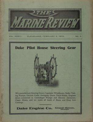 Marine Review (Cleveland, OH), 8 Feb 1906