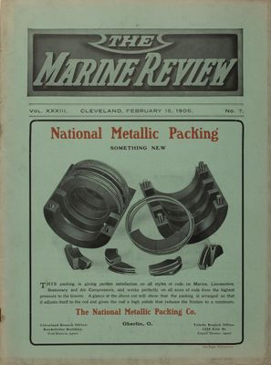 Marine Review (Cleveland, OH), 15 Feb 1906