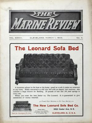 Marine Review (Cleveland, OH), 1 Mar 1906