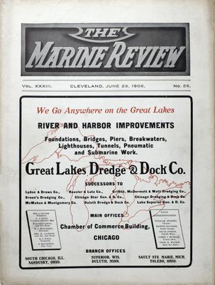 Marine Review (Cleveland, OH), 28 Jun 1906