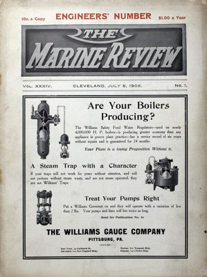Marine Review (Cleveland, OH), 5 Jul 1906