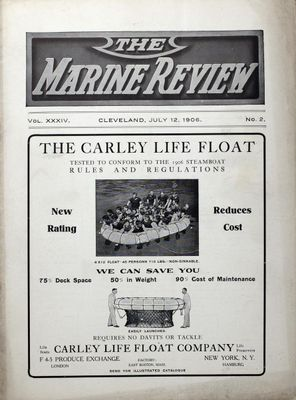 Marine Review (Cleveland, OH), 12 Jul 1906