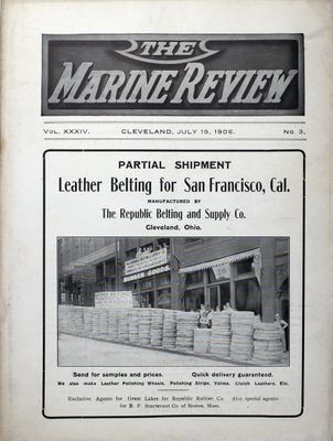 Marine Review (Cleveland, OH), 19 Jul 1906