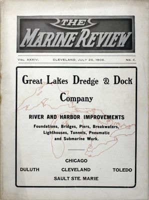 Marine Review (Cleveland, OH), 26 Jul 1906