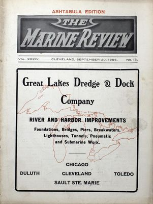 Marine Review (Cleveland, OH), 20 Sep 1906