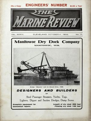 Marine Review (Cleveland, OH), 4 Oct 1906