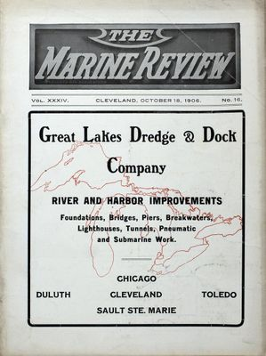 Marine Review (Cleveland, OH), 18 Oct 1906