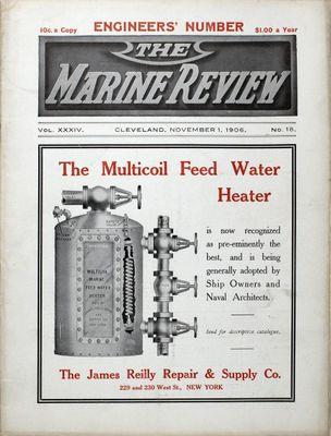 Marine Review (Cleveland, OH), 1 Nov 1906
