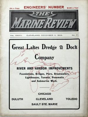 Marine Review (Cleveland, OH), 6 Dec 1906