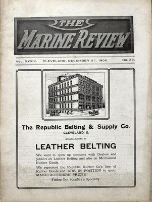 Marine Review (Cleveland, OH), 27 Dec 1906